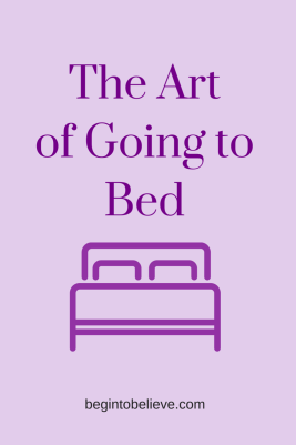 The Art of Going to Bed (6)